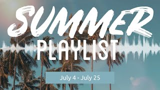 Here's Your Summer Playlist