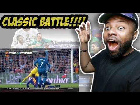 Barcelona vs Real Madrid 1-3 - Highlights & Goals - 13 August 2017 Reaction
