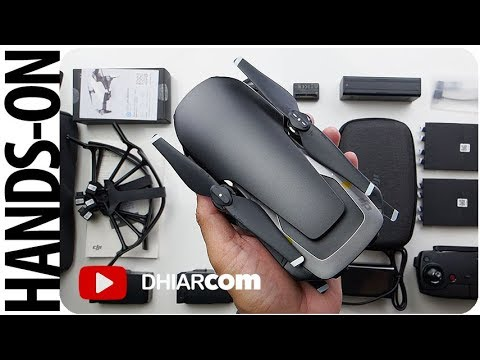 Unboxing DJI Mavic Air INDONESIA, Fly More Combo!