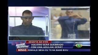 BRASIL URGENTE MINAS - Preso é encontrado entrando com droga dentro de iogurte na prisão. 03/05/13