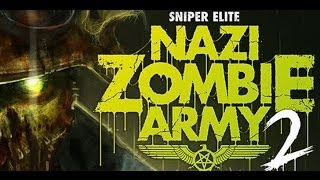 WTF? Games | Sniper Elite: Nazi Zombie Army 2 Co-Op Gameplay [1080p]