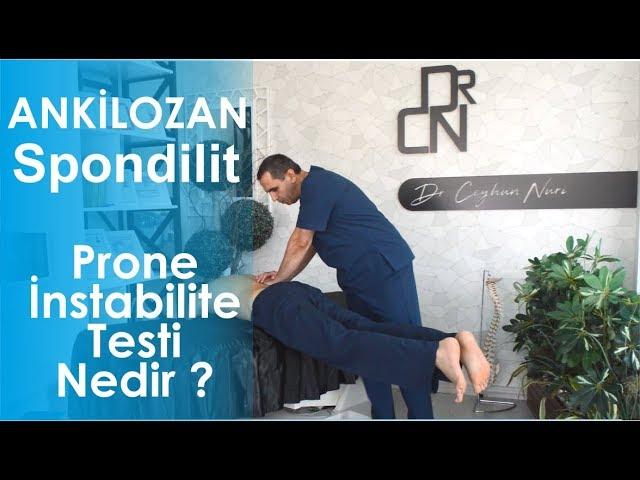 Prone İnstabilite Testi ve Egzersizleri - Ankilozan Spondilit ve Kronik Bel Ağrıları
