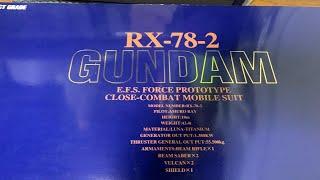 PG RX-78-2 ガンダム 切り出しライブ.