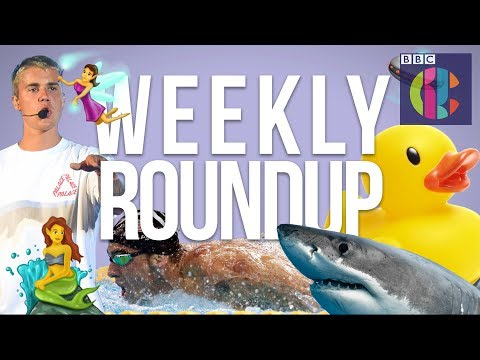 Despacito, New Emojis and Racing against Sharks | CBBC