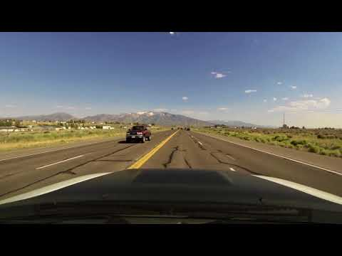 Time Lapse Drive Elko, NV - Ruby Mountains, NV 7.5.17