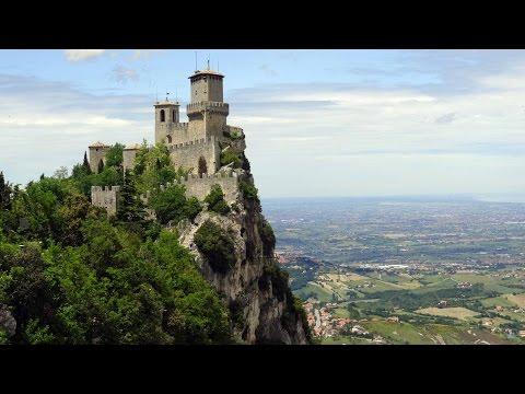 Republic of San Marino - sightseeing 4K