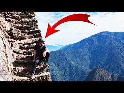 L'ESCALIER LE PLUS DANGEREUX DU MONDE ! Vlog Pérou ep2