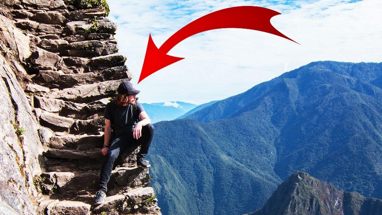 L 39 escalier le plus dangereux du monde vlog p rou ep2 - Vers dans les cerises dangereux ...