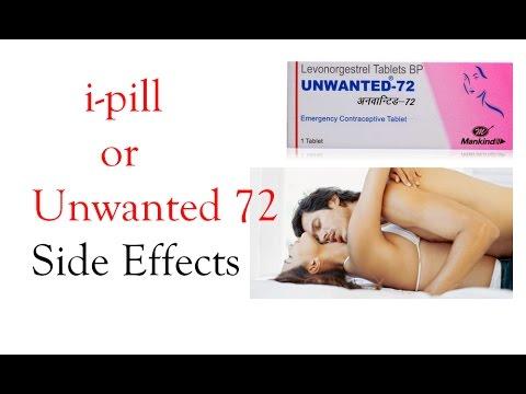 गर्भ-निरोधक गोलियों के नुक्सान   ipill or Unwanted 72 Side Effects in Hindi