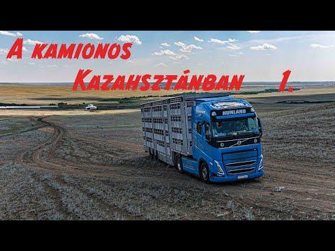 A kamionos Kazahsztánban 1.rész. Szopóroller...