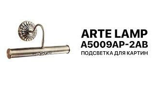 Arte Lamp Picture Lights 5 A5009AP-2AB подсветка для картин