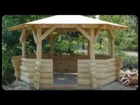 Altana Ogrodowa Drewniana Wiata Z Bali Na 5 7 Osób