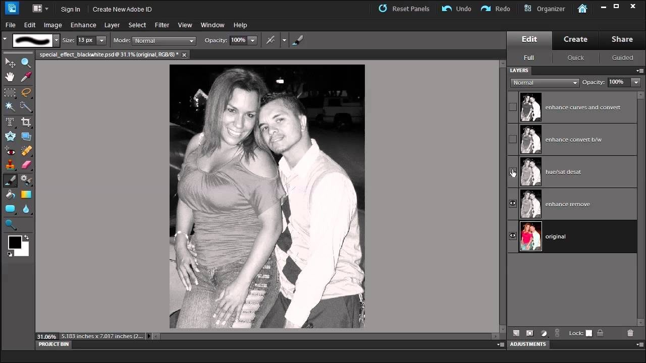 How to change black white photography color in photo coloring pages