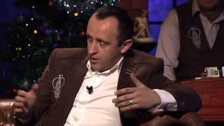 Ondrej Kandráč & Pavol Novák - Vinš a jeho preklad (Neskoro večer - Talkshow Petra Marcina)