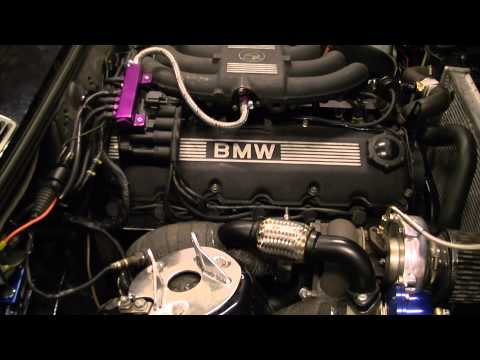 Bmw E30 M20 B25 27 With Turbo Engine Start Youtube