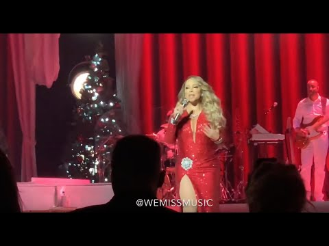 Mariah Carey - Christmas (Baby Please Come Home) - Live at Las Vegas 27/11/2019