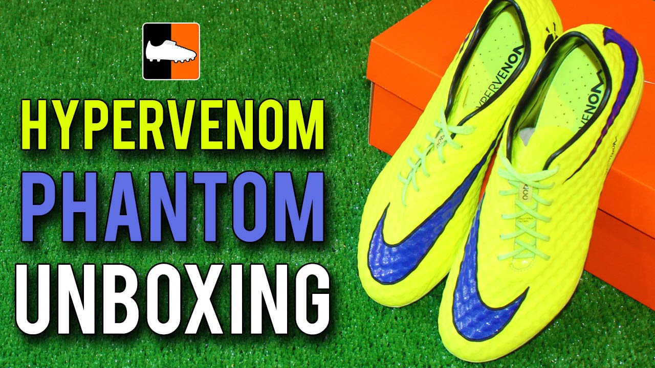 sale retailer e254b 30b82 Nike Hypervenom Phantom Unboxing - Intense Heat Pack