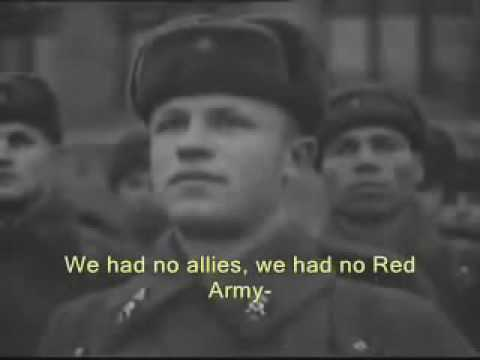 Stalin Speech 1941 Red Army Parade 7 November (English Subtitles)