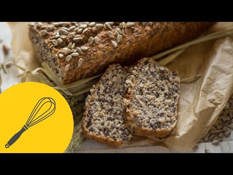 Low Carb Brot selber backen | Lecker, leicht und kohlenhydratarm | Brotrezept für jeden Tag