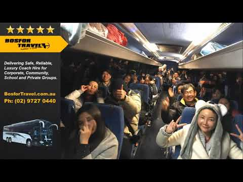 Bosfor Travel - Coach Hire Sydney - Day Trips