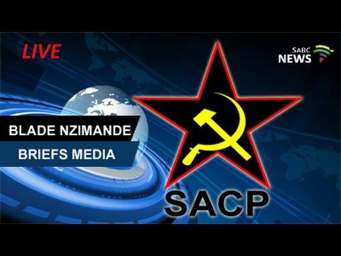 SACP General Secretary Blade Nzimande Media Briefing