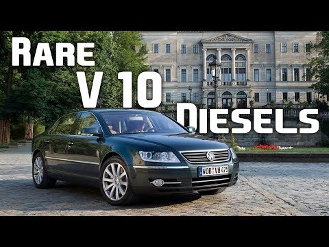 The Only 7 Diesel V-10 Engines In The World