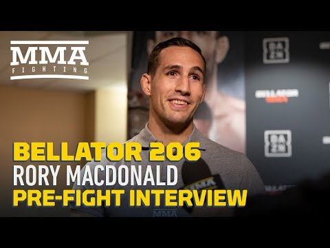 Bellator 206: Rory MacDonald Happy to Not Be Part of 'Annoying and Fake' UFC Welterweight Shuffle