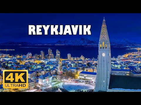 Reykjavik, Iceland 🇮🇸  4K Drone Footage