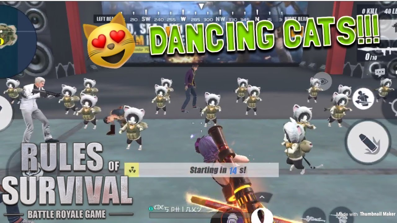 THEY'RE SO CUTE!!! - Rules of Survival (Tagalog)