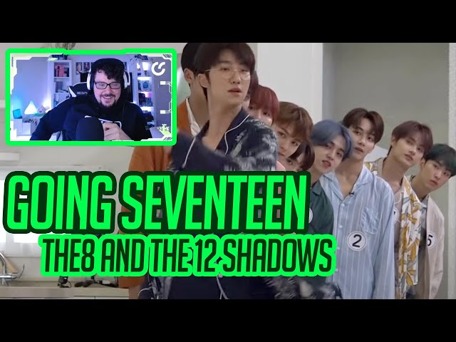 Mikey Reacts to GOING SEVENTEEN 2020 - The8 and the 12 Shadows pt. 1
