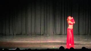 Oriental Summer Tales 2015 Gala Show - Aicha Said (Paso de Fuego - Serbia)