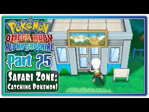 Pokemon Omega Ruby and Alpha Sapphire - Part 25: Safari Zone | Absolite and Rare Pokemon!  (FaceCam)