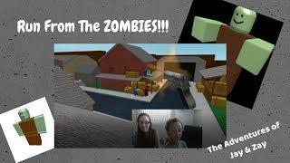 Roblox: mamma e figlio devono battere la corsa zombie