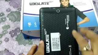 Datawind UBISLATE 3G7 Full Review