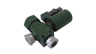 Elektro-pnevmatik klapan AE-027