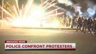 Riot declared in SE Portland on 100th night of protests in the city