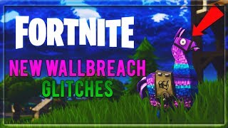 Fortnite Season 4 Glitches | Fortnite Battle Royale Wallbreach Glitches | New Glitches On Fortnite