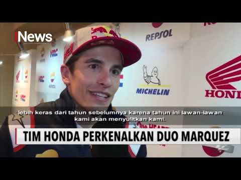 Tim Repsol Honda Resmi Perkenalkan Duo Marquez - iNews Pagi 05/02