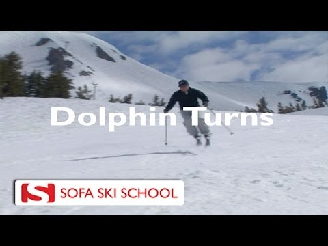 Captivating Dolphin Turns   Sofa Ski School