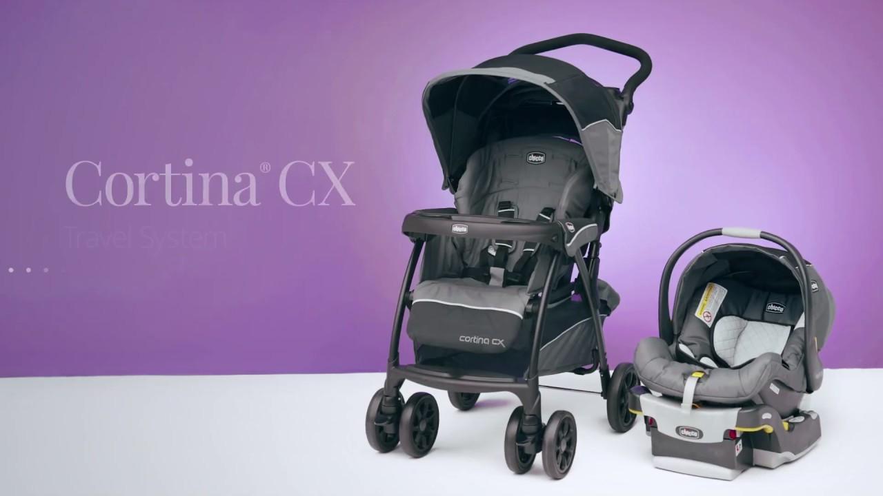 Chicco Cortina Cx Travel System At Walmart