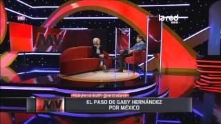 """Gaby Hernández: """"He probado varios tipos de drogas"""""""