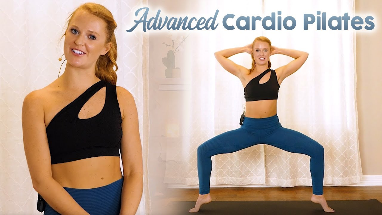 🔥 Cardio Pilates Challenge Fat Burning Sculpt 🔥 Slim Waist, Total Body Workout, At Home No Equipment