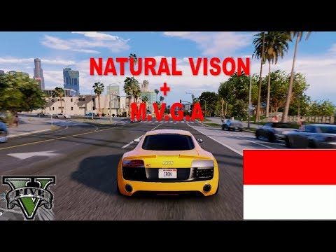 ► GTA 5 Graphics - vehicle Gameplay! NV + M.V.G.A ✪  - Ultra Realistic Graphic - Indonesia Gameplay