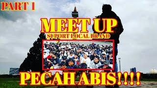 Meet Collab Local Brand Sejabodetabek di Monas Pecah Abis |Local Brand | Part 1