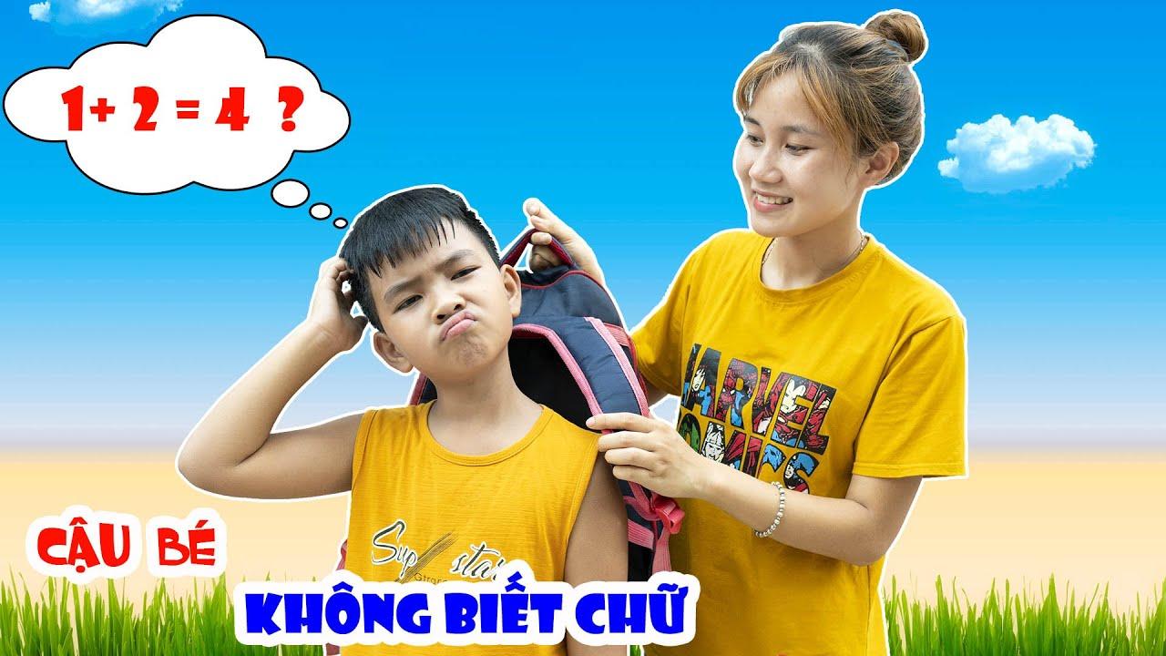 Cậu Bé Không Biết Chữ ♥ Min Min TV Minh Khoa