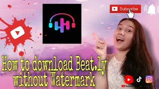 HOW TO DOWNLOAD BEAT.LY WITHOUT WATERMARK screenshot 5