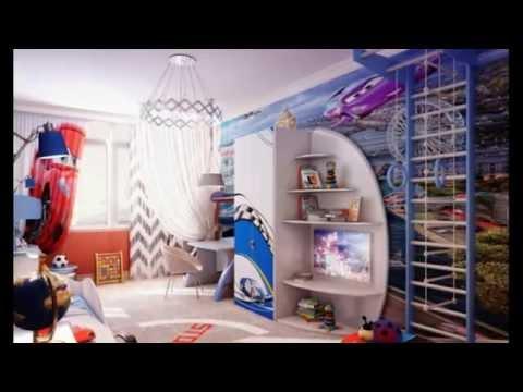 Дизайн детской комнаты для мальчика 10 лет. Идеи Интерьера !
