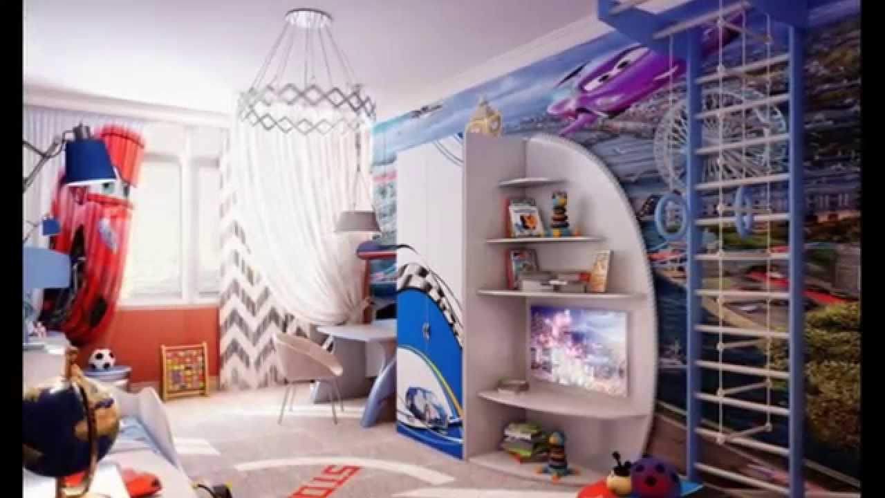 дизайн детской комнаты для мальчика 10 лет идеи интерьера Youtube