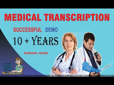 How to do Medical Transcription Demo - YouTube