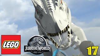 LEGO JURASSIC WORLD Gameplay Walkthrough Part 17 - 'THE DINOSAUR HAS ESCAPED!!!' (1080p HD PC)
